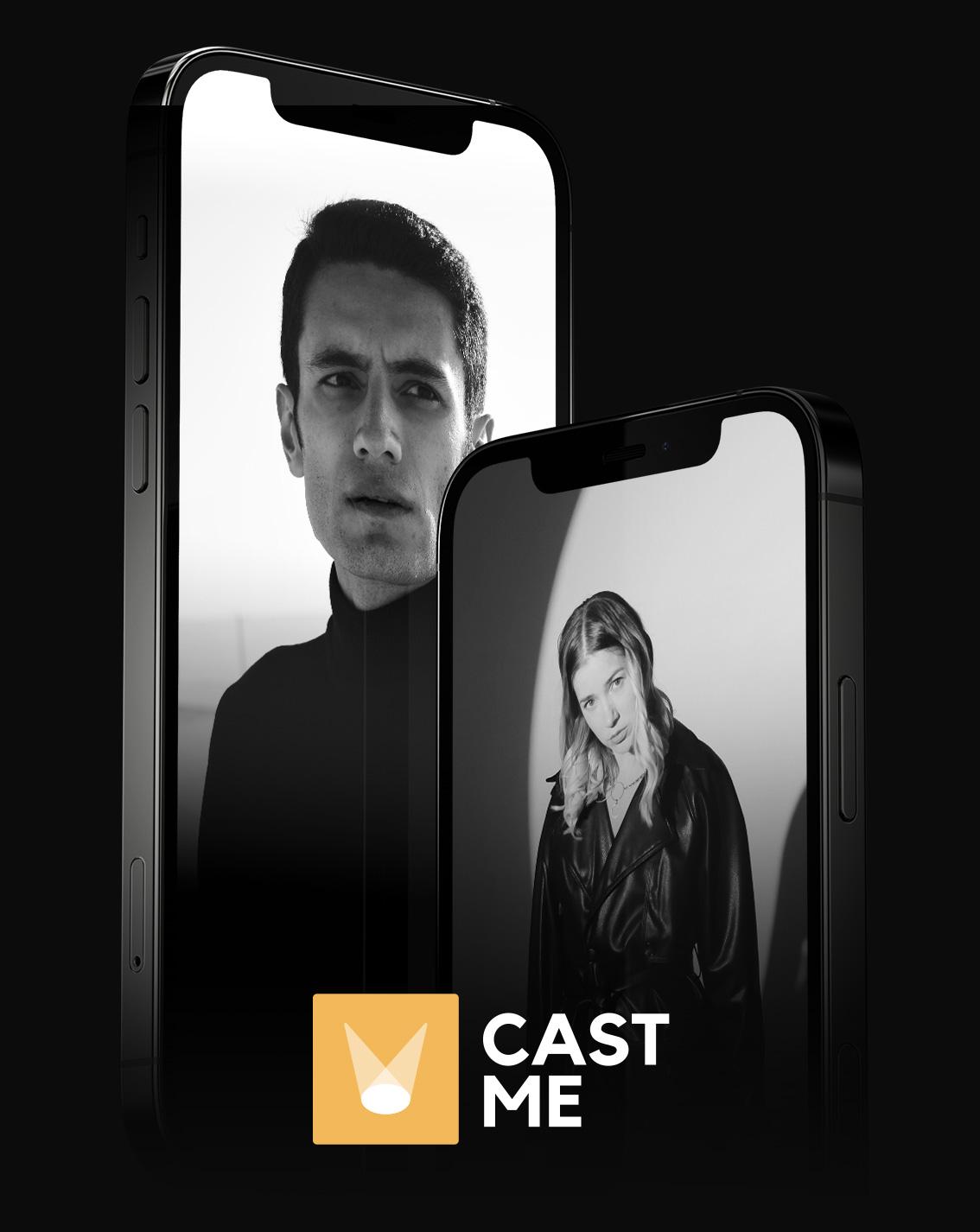 CAST ME die Casting App für Kleindarsteller, Komparsen, Schauspieler und mehr